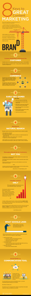 8 keys to great content marketing